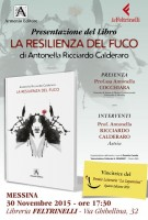 Locandina Presentazione LA RESILIENZA DEL FUCO_MESSINA