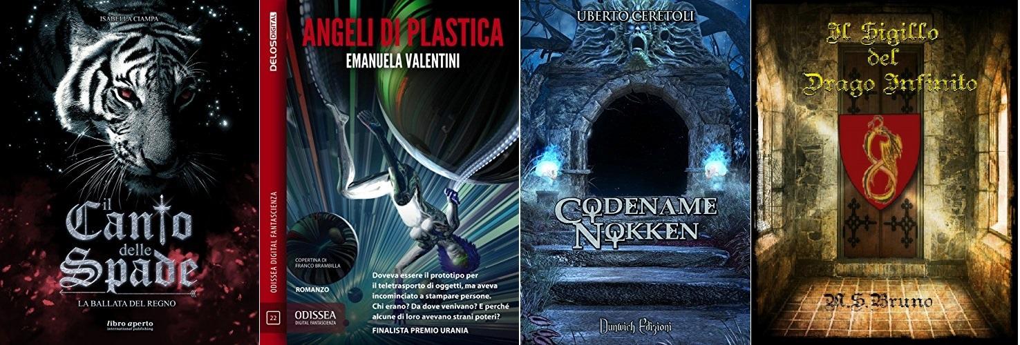 La malia del mistero per tre romanzi… più uno!