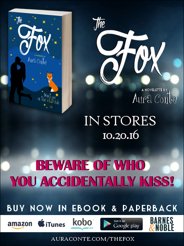 """The Fox"" a novelette by Aura Conte, release day"