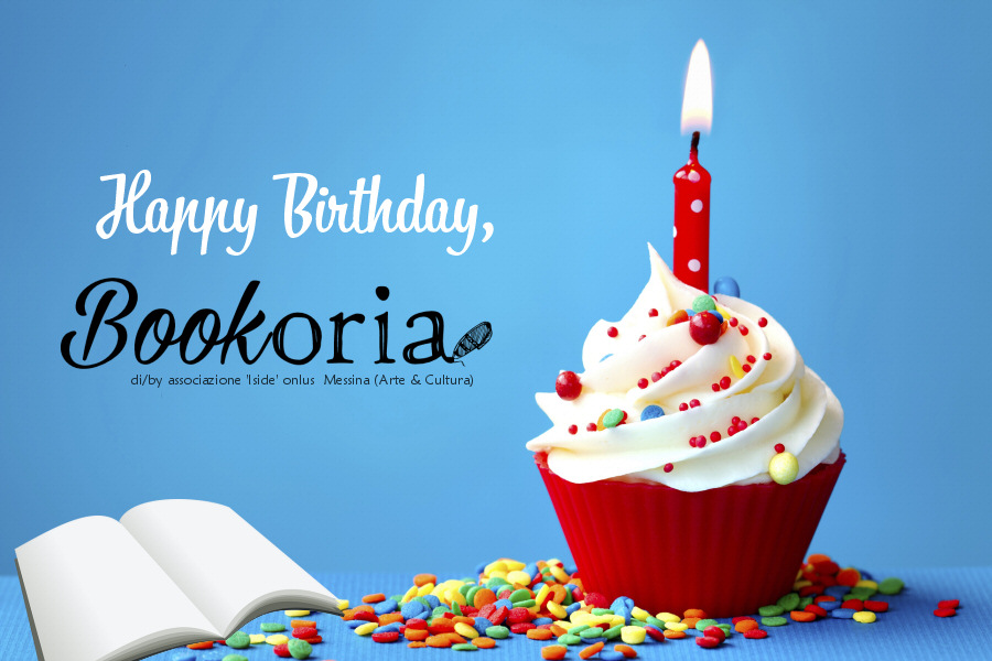 1 anno di Bookoria! Happy birthday!