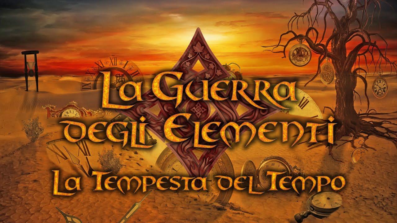 """Book Trailer: """"La Tempesta del Tempo (La Guerra degli Elementi – Vol.3)"""""""