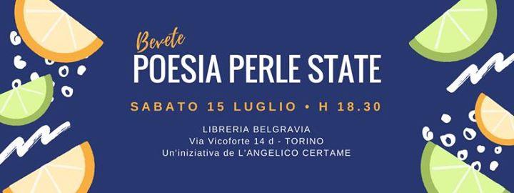 """""""Poesia Perle State"""": un appuntamento per chi ama leggere e ascoltare i poeti"""
